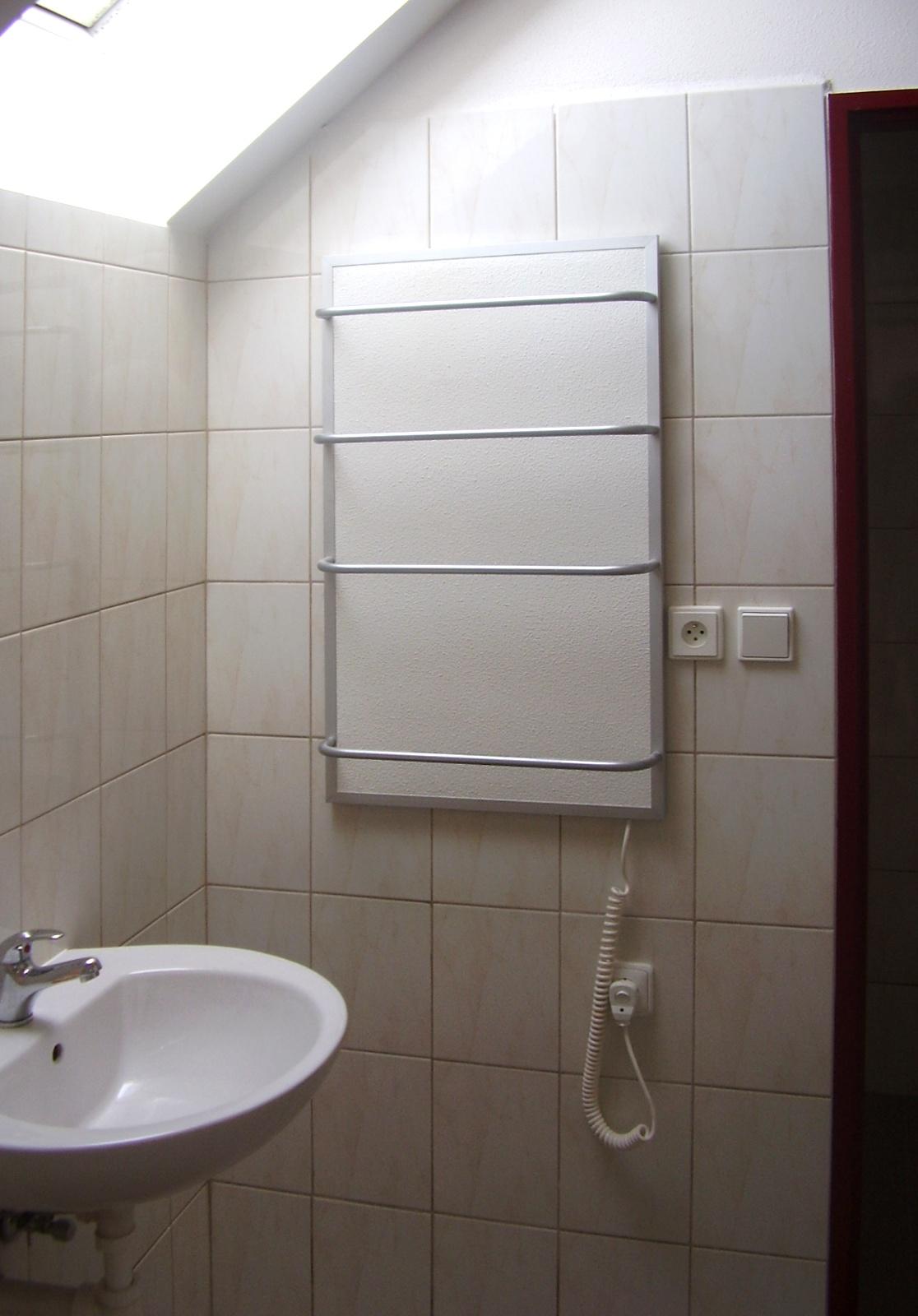 Badezimmer-Heizplatten